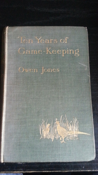 Ten Years of Game Keeping Owen Jones